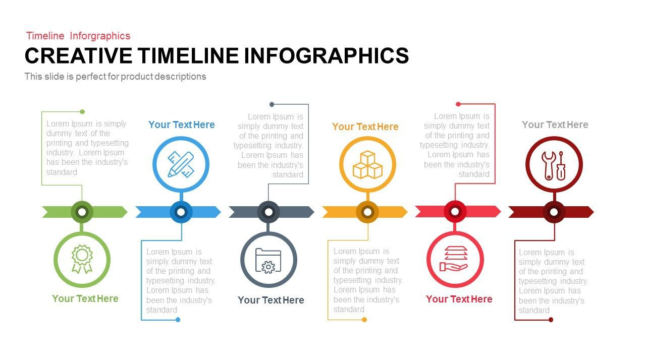 001 Surprising Timeline Example Presentation Design  Project Slide TemplateFull
