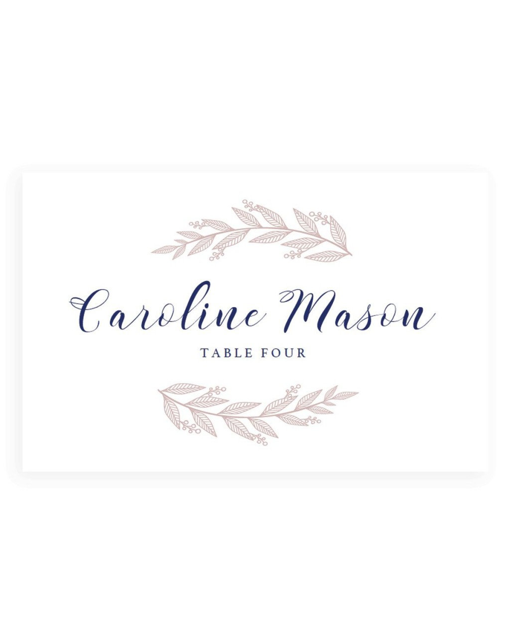 001 Surprising Wedding Name Card Template High Def  Templates For Table Place FreeLarge