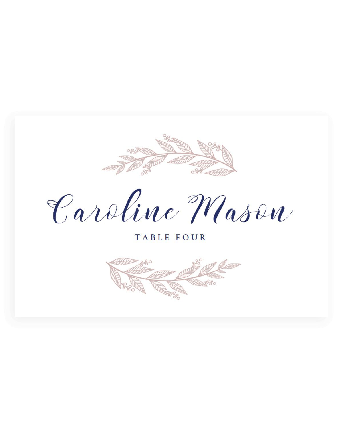 001 Surprising Wedding Name Card Template High Def  Templates For Table Place FreeFull