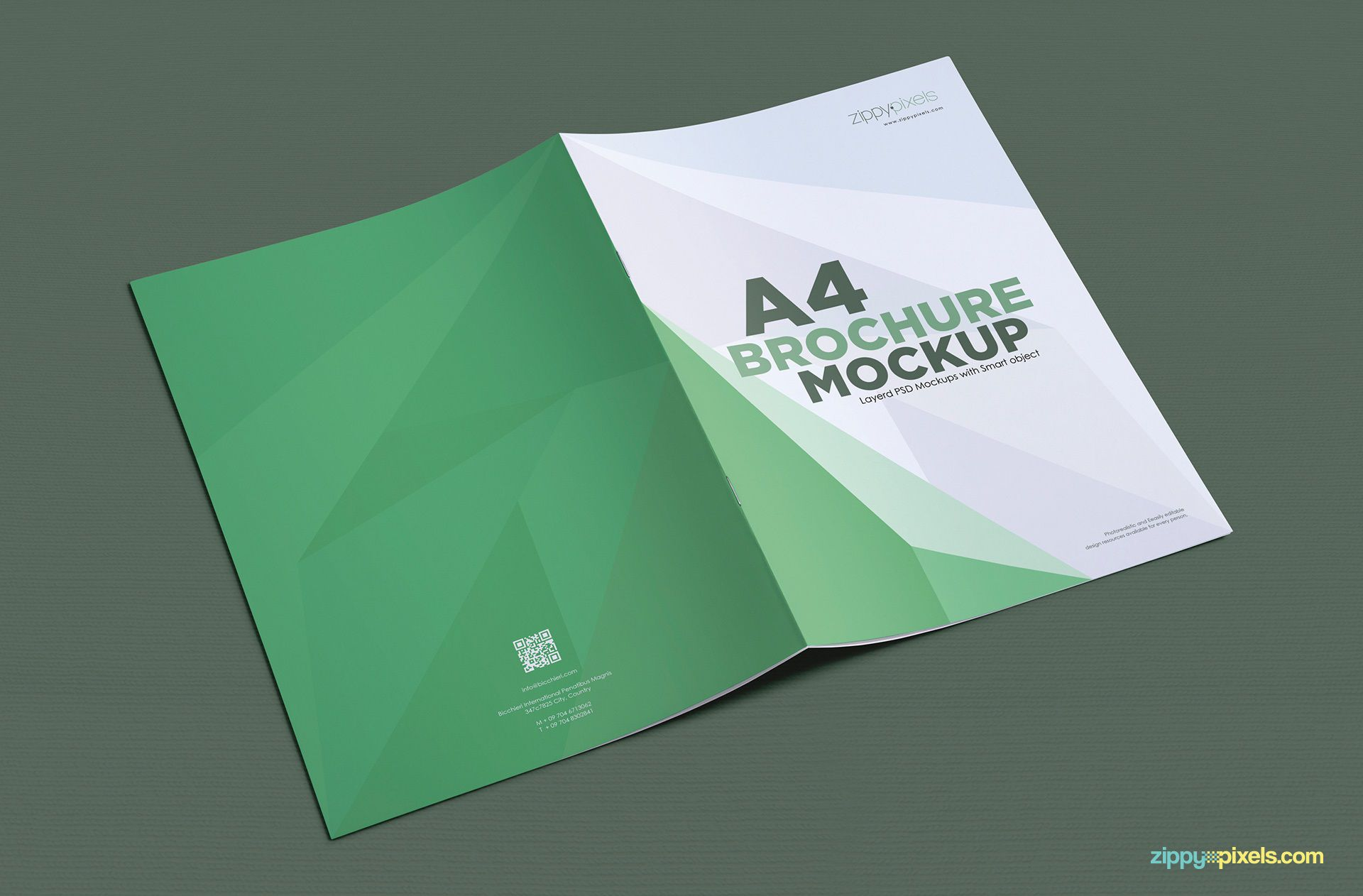 001 Top A4 Brochure Template Psd Free Download Highest Clarity  Tri Fold BifoldFull