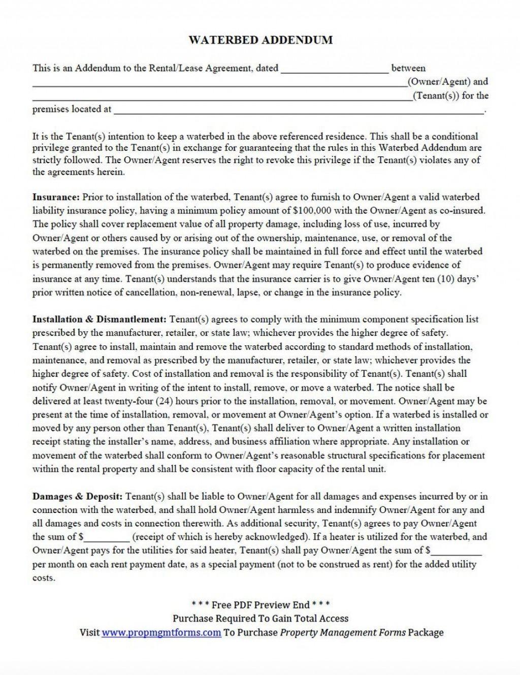 001 Top Addendum Form For Rental Agreement Idea Large