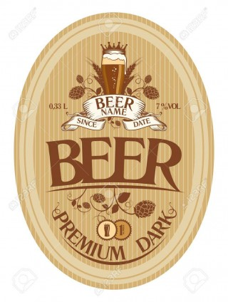 001 Top Beer Label Design Template High Def  Free320