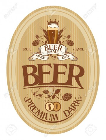 001 Top Beer Label Design Template High Def  Free360