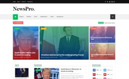 001 Top Best Free Responsive Blogger Template 2018 Example