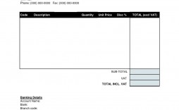 001 Top Download Free Invoice Template Highest Quality  Sale Uk Simple Excel Self Employed