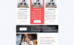 001 Top Email Newsletter Template Free Download Concept  Html Busines