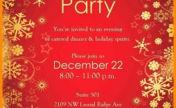 001 Top Free Holiday Party Flyer Template Word High Resolution