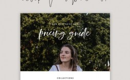 001 Top Free Photography Package Template Concept  Pricing