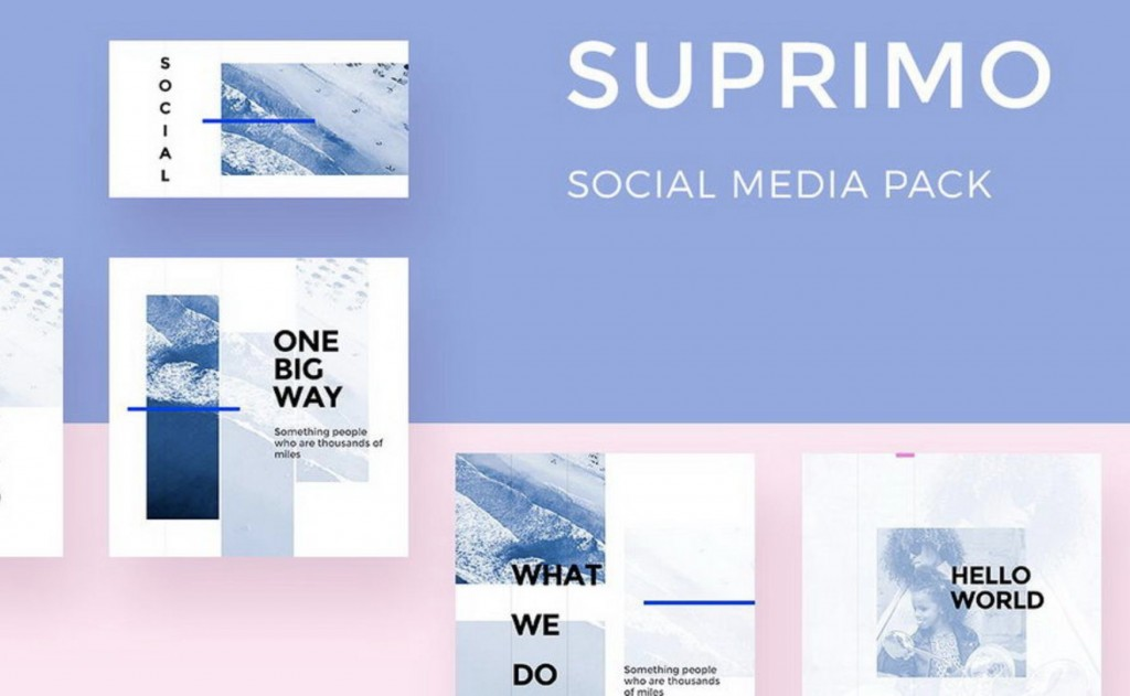 001 Top Free Social Media Template Photo  Templates Website Design Post Download For PowerpointLarge