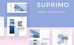 001 Top Free Social Media Template Photo  Templates Website Design Post Download For Powerpoint