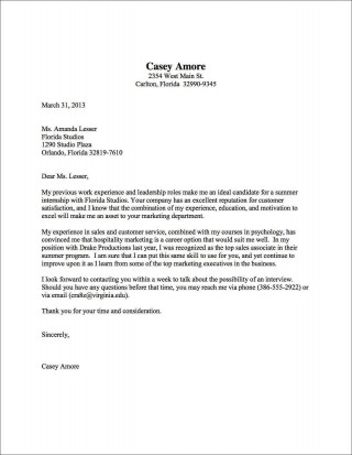001 Top Good Cover Letter Template Example Design  Sample Nz Free320