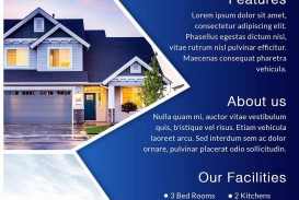 001 Top House For Sale Flyer Template Inspiration  Free Real Estate Example By Owner