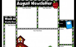 001 Top Newsletter Template For Teacher To Parent Highest Quality  Parents