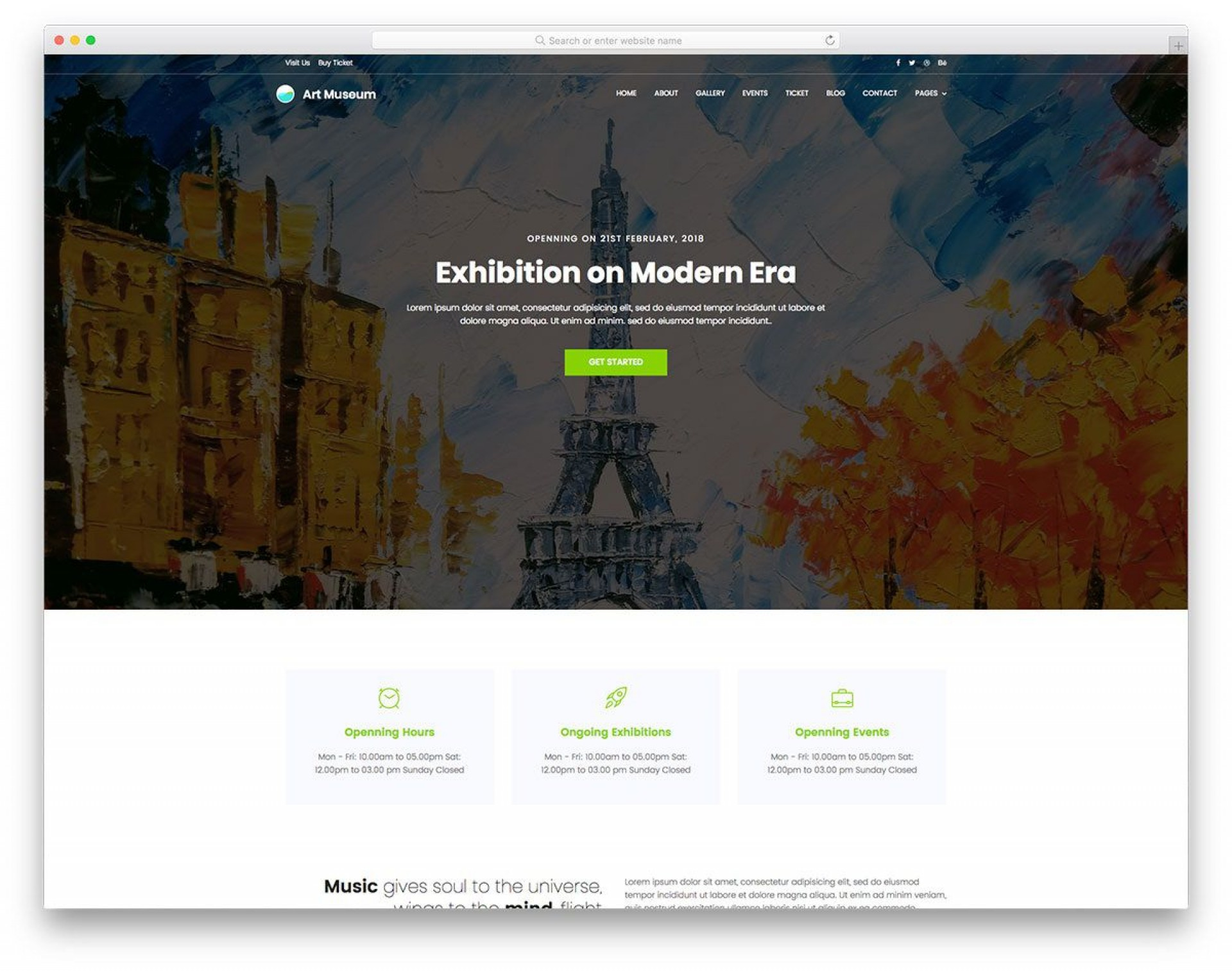 001 Top Painting Website Html Template Free Download High Def 1920