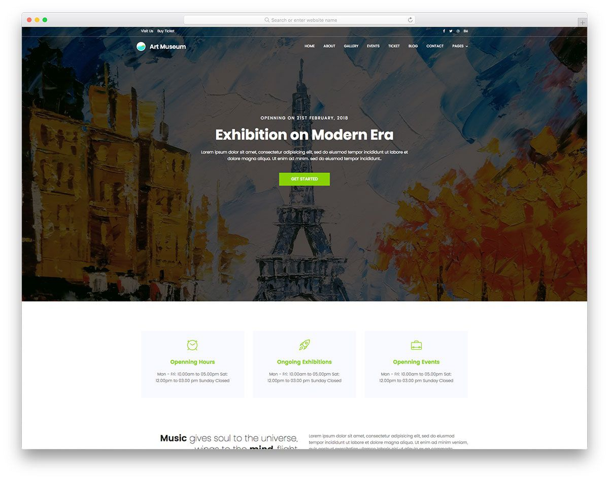 001 Top Painting Website Html Template Free Download High Def Full