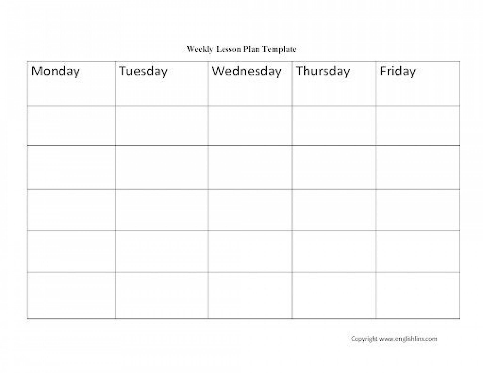 001 Top Printable Lesson Plan Template Weekly Photo  Blank Pdf Monthly Free Preschool1920