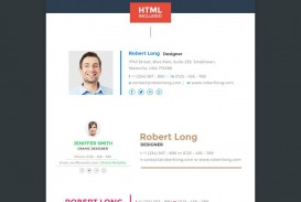 001 Top Professional Email Signature Template Highest Clarity  Busines Download