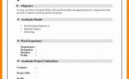 001 Top Simple Resume Template Download In M Word Highest Clarity