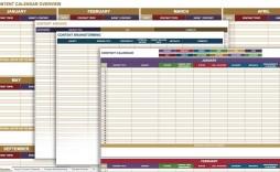 001 Top Social Media Editorial Calendar Template Inspiration  Content Excel 2020 Free Download
