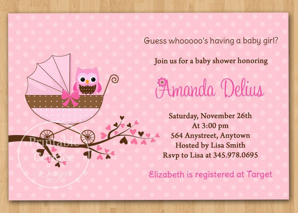 001 Unbelievable Baby Shower Invitation Wording Example Highest Clarity  Examples Invite Coed Idea For BoyLarge