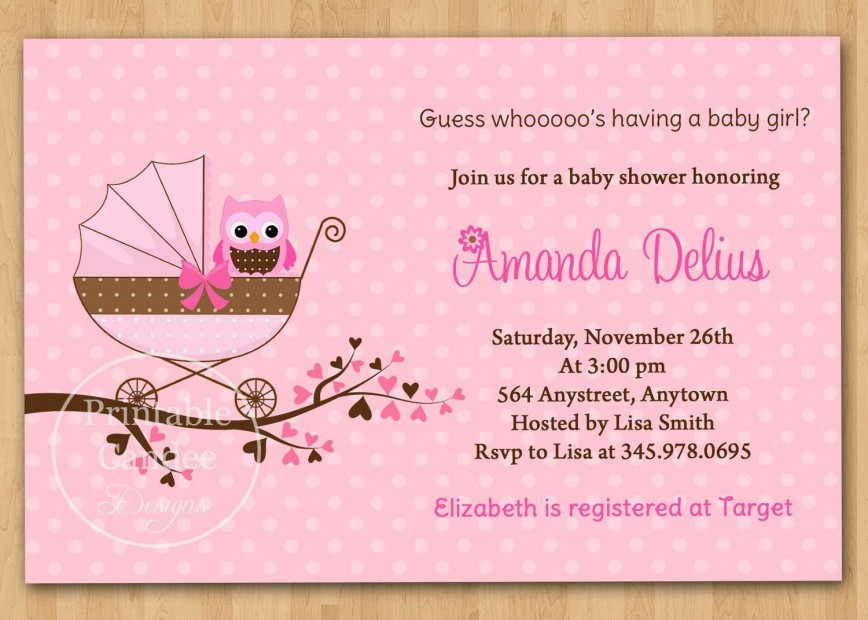 001 Unbelievable Baby Shower Invitation Wording Example Highest Clarity  Examples Coed Invite Message