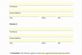 001 Unbelievable Busines Partnership Contract Template Photo  Agreement Free Nz Word