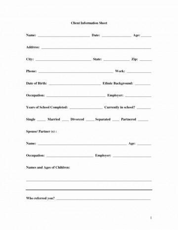 001 Unbelievable Client Information Form Template Excel Highest Clarity 360