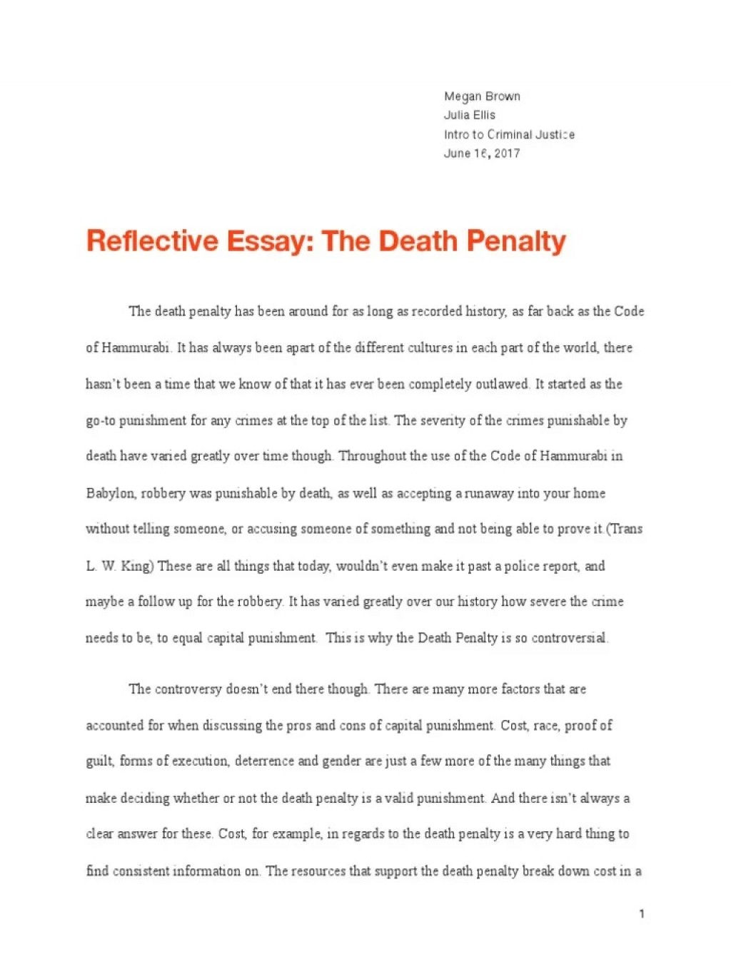 001 Unbelievable Death Penalty Essay Highest Quality  Persuasive Introduction In The Philippine Tagalog ProLarge