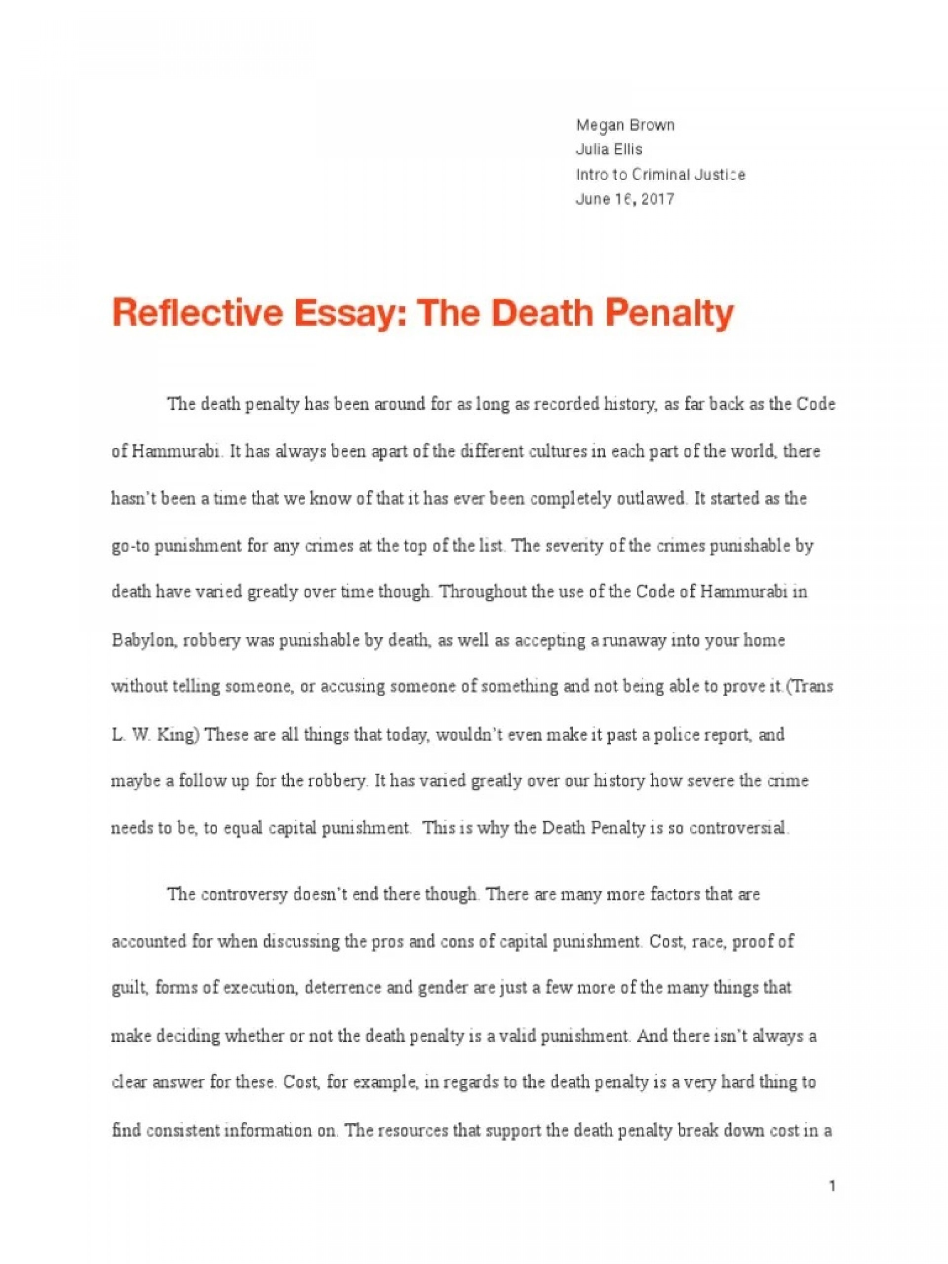 001 Unbelievable Death Penalty Essay Highest Quality  Persuasive Introduction In The Philippine Tagalog Pro1920