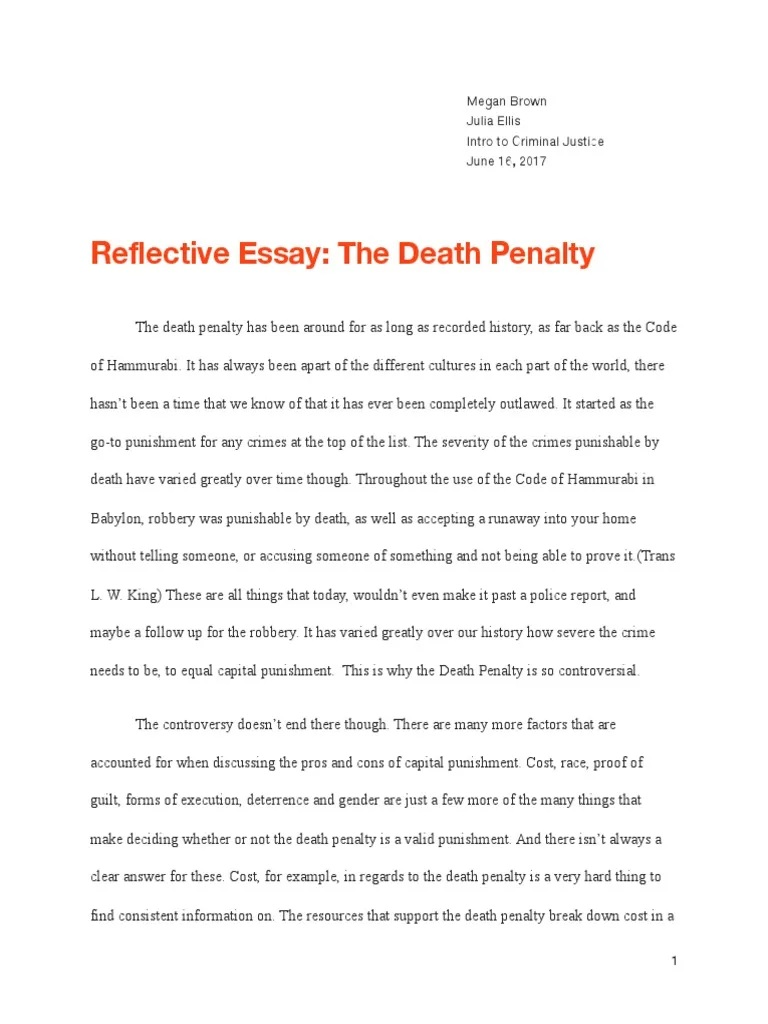 001 Unbelievable Death Penalty Essay Highest Quality  Persuasive Introduction In The Philippine Tagalog ProFull
