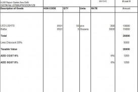 001 Unbelievable Excel Invoice Template Gst Free Download High Definition