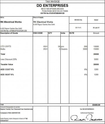 001 Unbelievable Excel Invoice Template Gst Free Download High Definition 360