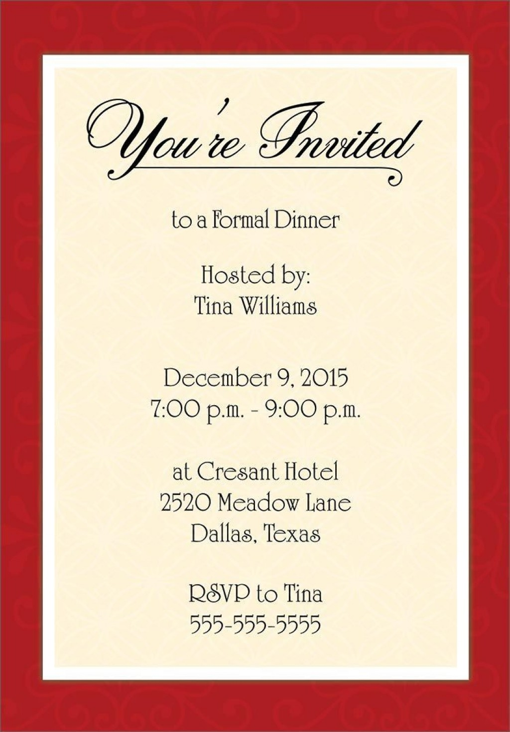001 Unbelievable Free Busines Invitation Template For Word Sample Large