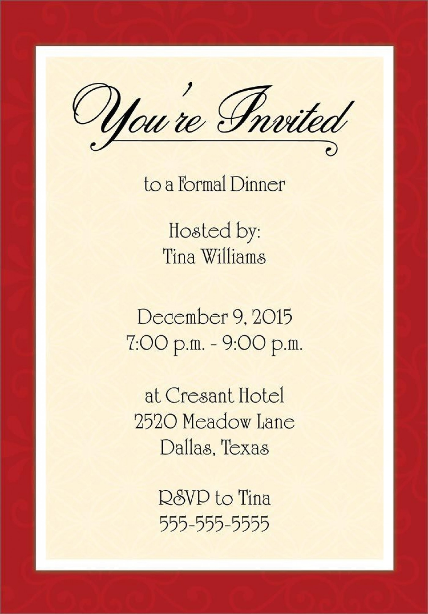 001 Unbelievable Free Busines Invitation Template For Word Sample 1400