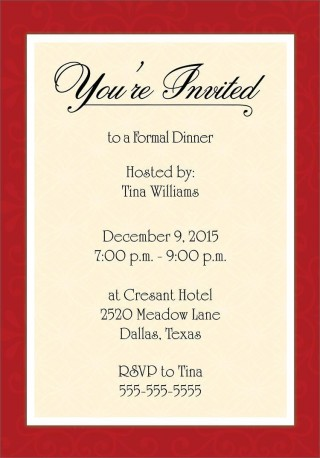 001 Unbelievable Free Busines Invitation Template For Word Sample 320