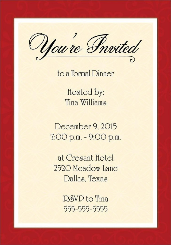 001 Unbelievable Free Busines Invitation Template For Word Sample 728