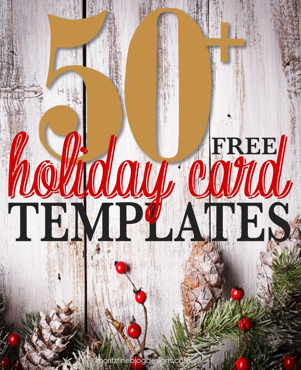 001 Unbelievable Free Holiday Card Template Sample  Templates Printable Photo For WordFull