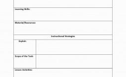 001 Unbelievable Free Lesson Plan Template Inspiration  Templates Editable For Preschool Google Doc