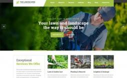 001 Unbelievable Lawn Care Website Template High Definition