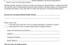 001 Unbelievable Medical Release Form Template Example  Free Consent Uk For Minor