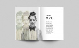 001 Unbelievable Photoshop Magazine Layout Template Free Download Example