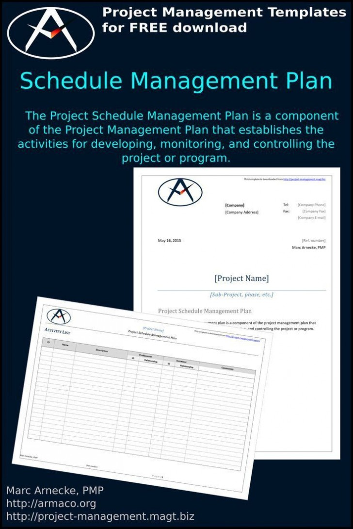 001 Unbelievable Project Management Plan Template Pmi Idea  Quality728