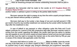 001 Unbelievable Promissory Note Word Template Sample  2007 Document Uk India