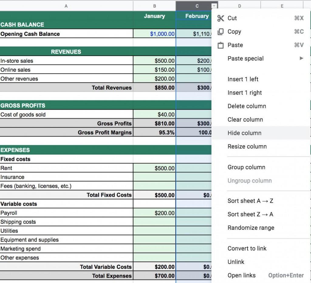 001 Unbelievable Statement Of Cash Flow Template Australia Concept Large