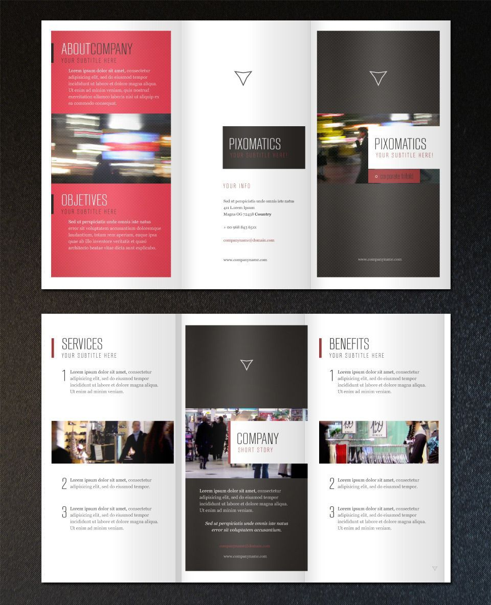 001 Unbelievable Template For Trifold Brochure Picture  Tri Fold Indesign A4 Free In Word DownloadFull