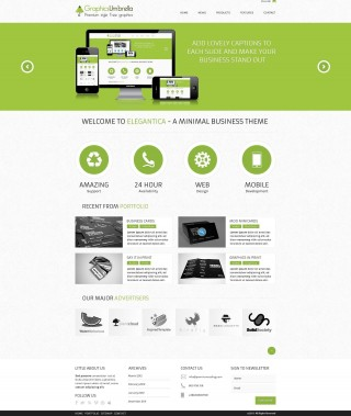 001 Unbelievable Web Template Free Download Sample  Psd Website Bootstrap Responsive320
