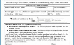 001 Unforgettable Direct Deposit Cancellation Form Template Sample  Authorization Canada Word Payroll