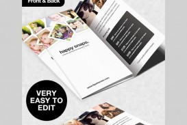 001 Unforgettable Free Brochure Template Psd File Front And Back Photo