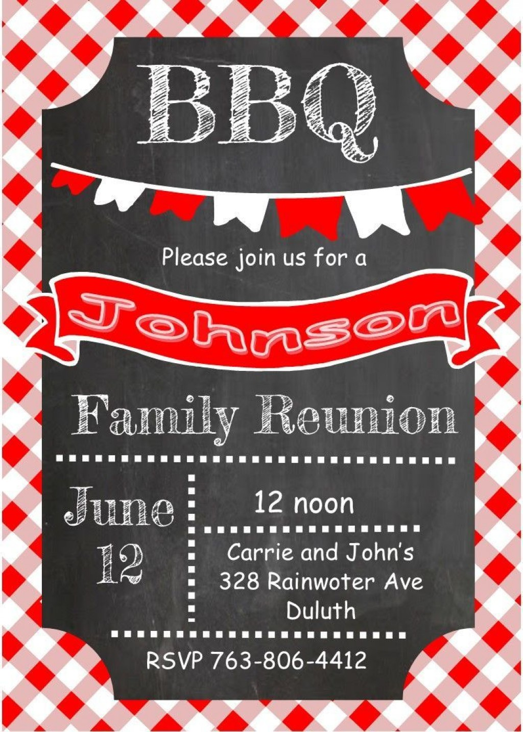 001 Unforgettable Free Downloadable Family Reunion Flyer Template Design Large