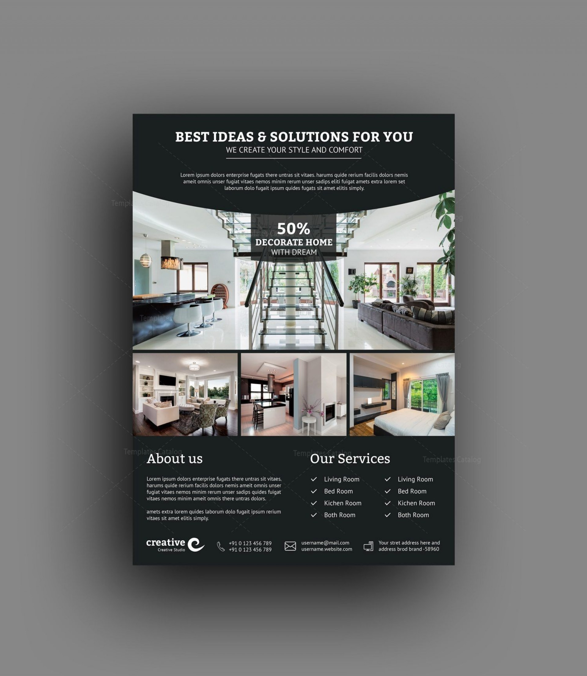 001 Unforgettable In Design Flyer Template Inspiration  Templates Indesign Free For Mac Event1920